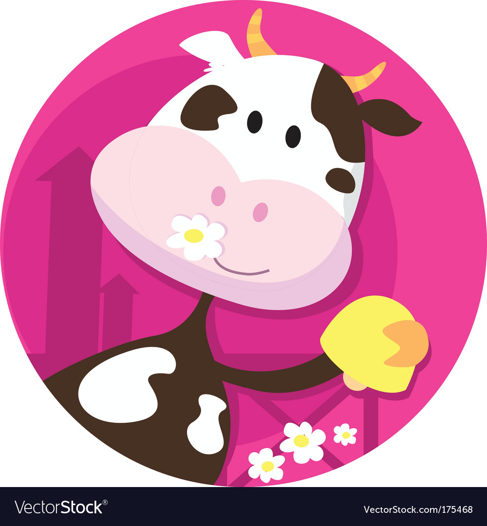 Farm animals cartoon vector | Price: 1 Credit (USD $1)