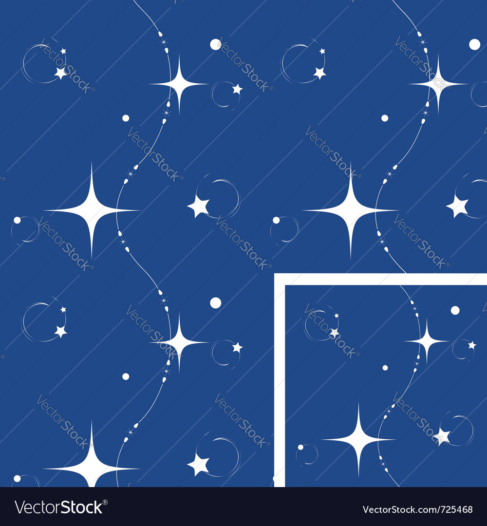 Seamless christmas night background vector | Price: 1 Credit (USD $1)