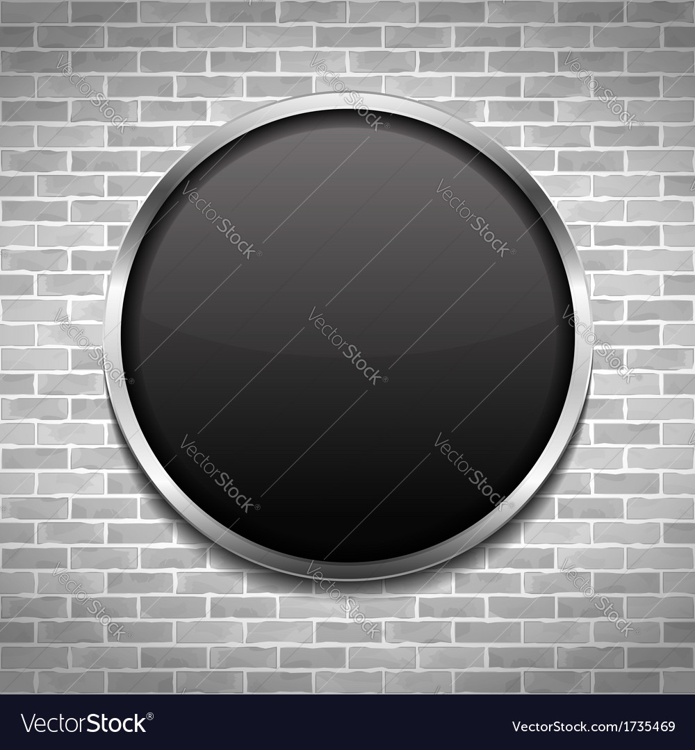 Black round board vector | Price: 1 Credit (USD $1)
