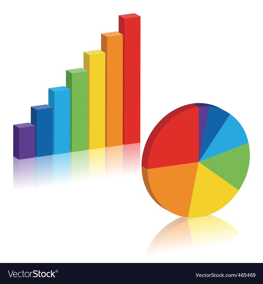 Business charts vector | Price: 1 Credit (USD $1)