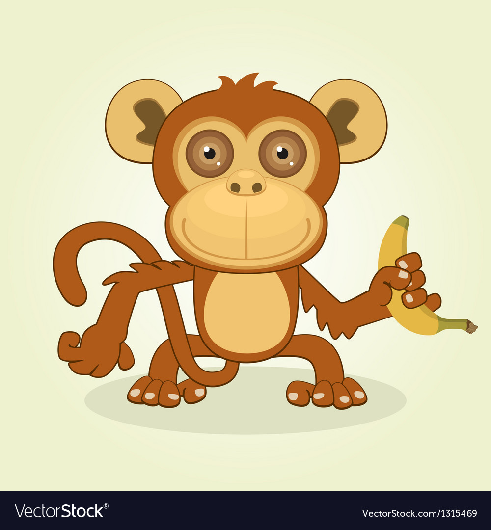 Monkey vector | Price: 3 Credit (USD $3)