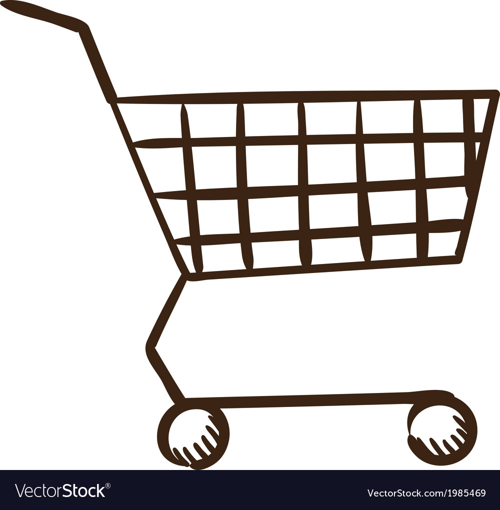 Shopping cart symbol vector | Price: 1 Credit (USD $1)