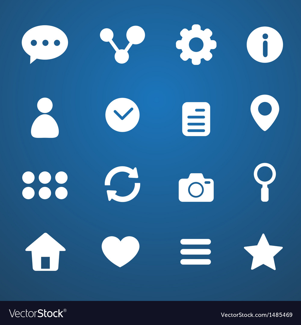 Social media icons vector | Price: 3 Credit (USD $3)