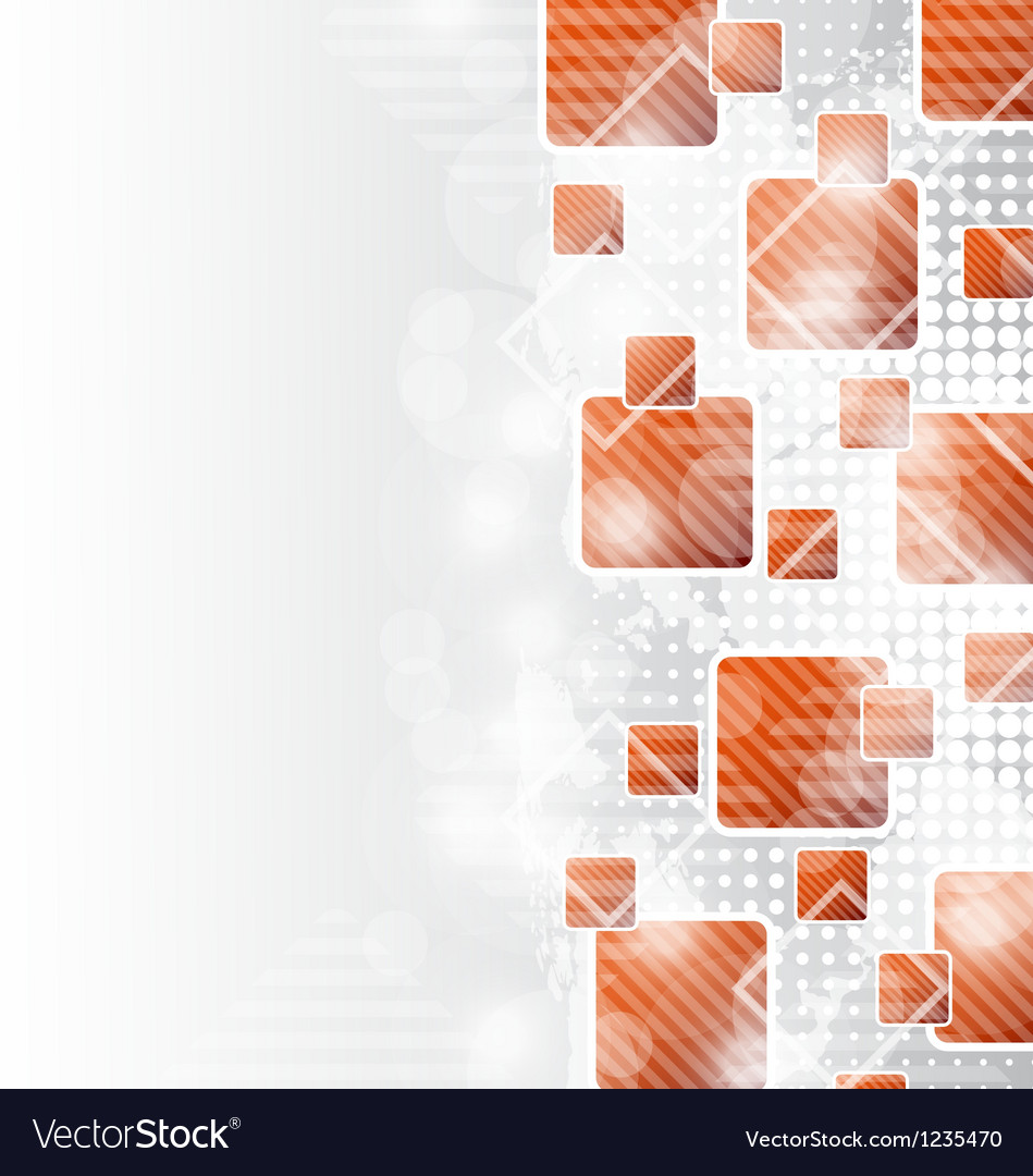 Abstract squares blank background for design vector | Price: 1 Credit (USD $1)
