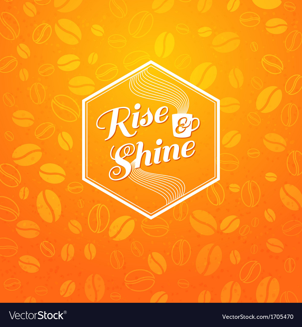 Optimistic morning statement for the whole day vector | Price: 1 Credit (USD $1)