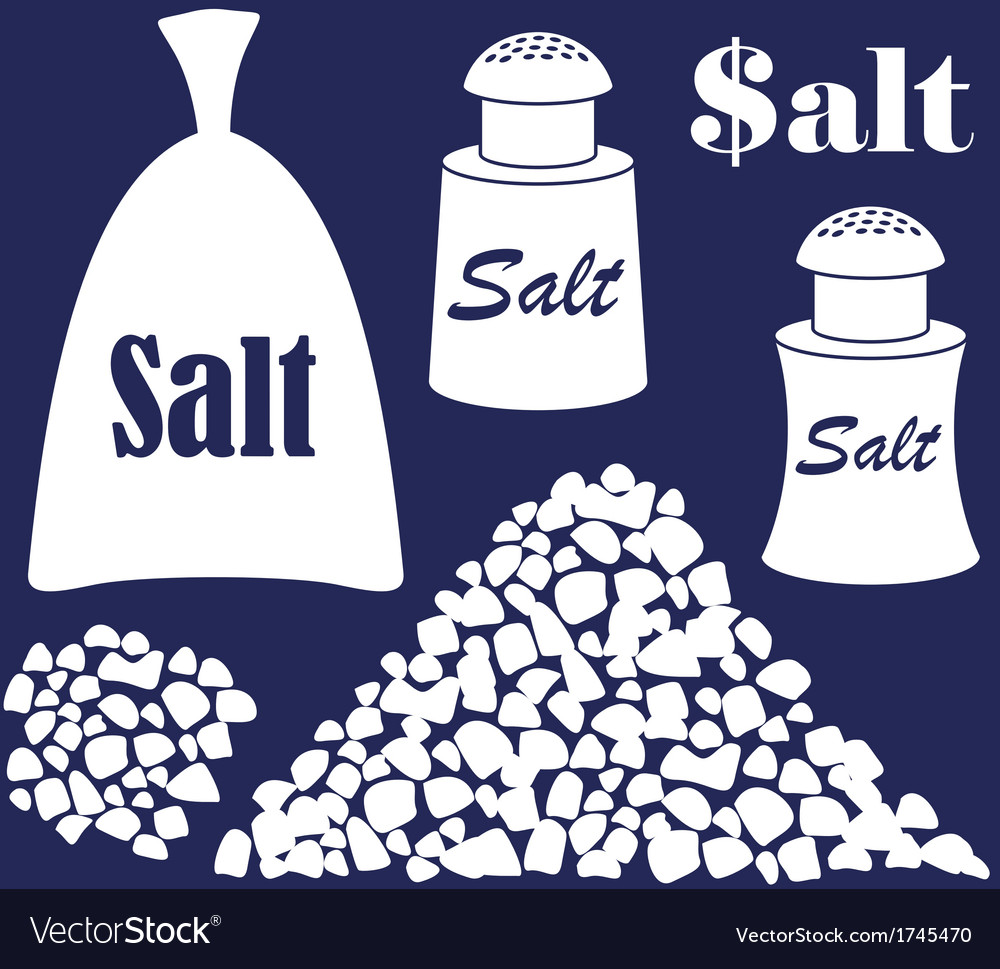 Salt vector | Price: 1 Credit (USD $1)