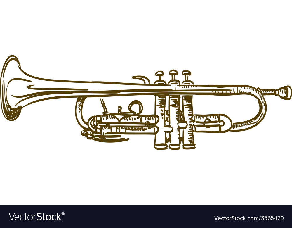 Trumpet vector | Price: 3 Credit (USD $3)