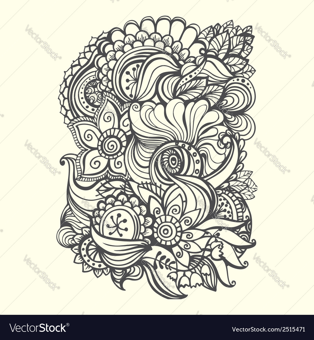Doodle background vector   Price: 1 Credit (USD $1)