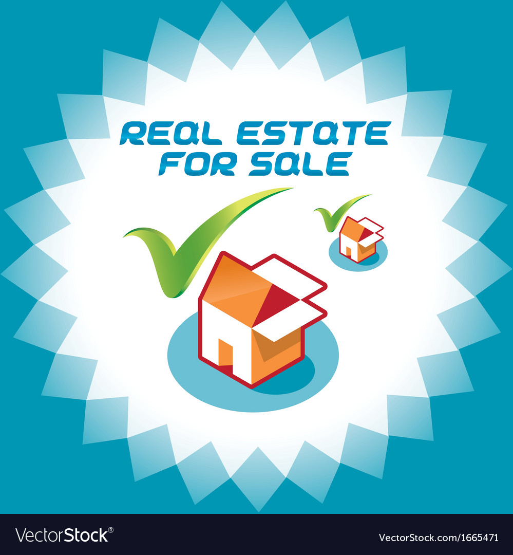 Real estate accept icons vector | Price: 1 Credit (USD $1)