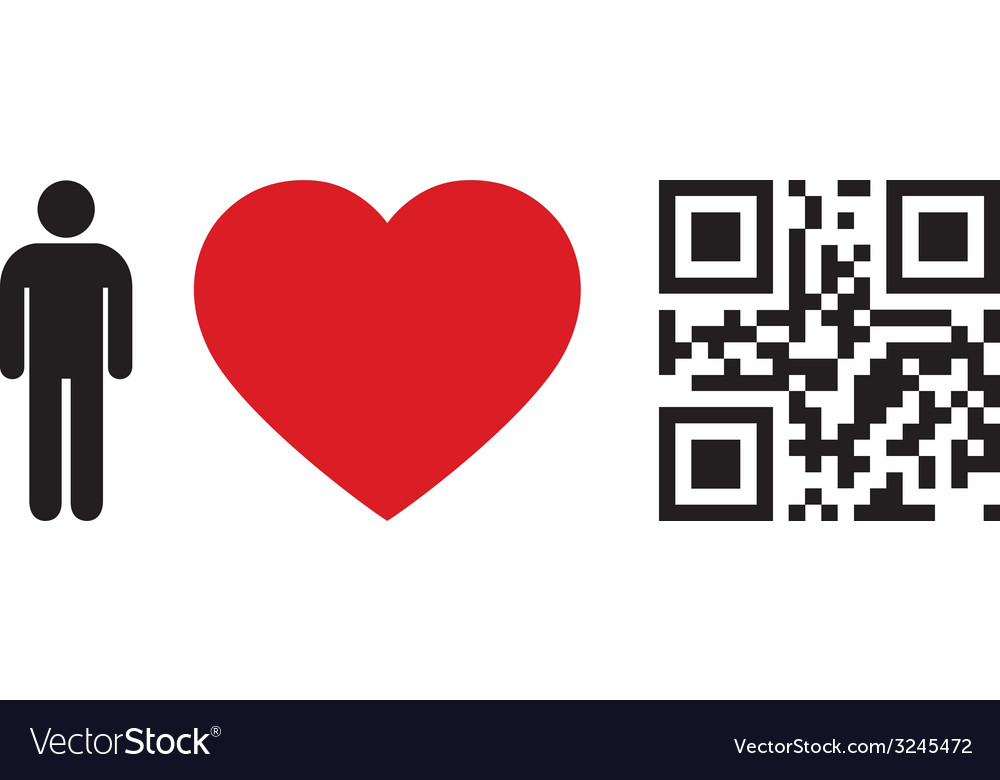 People love qr code vector | Price: 1 Credit (USD $1)