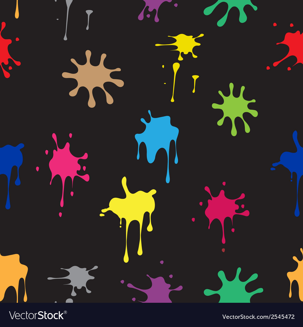 Seamless pattern of colored spots vector | Price: 1 Credit (USD $1)