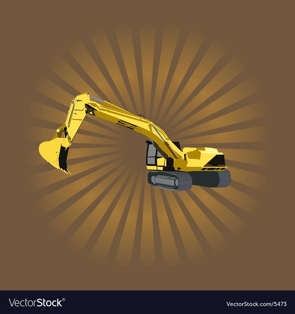 Heavy machinery vector | Price: 1 Credit (USD $1)