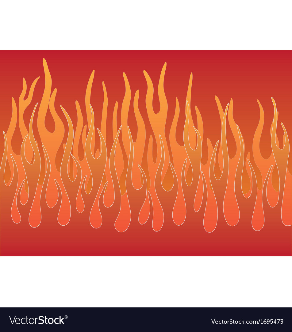 Stylized flames vector | Price: 1 Credit (USD $1)