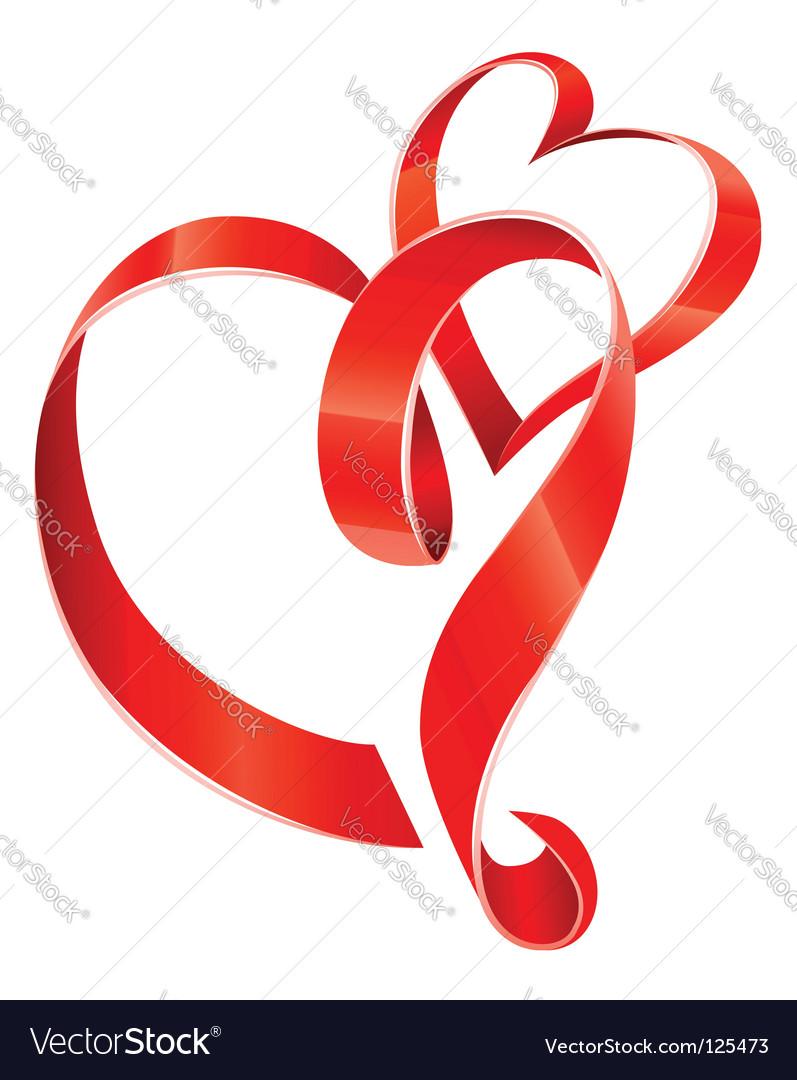 Valentine's hearts vector | Price: 1 Credit (USD $1)