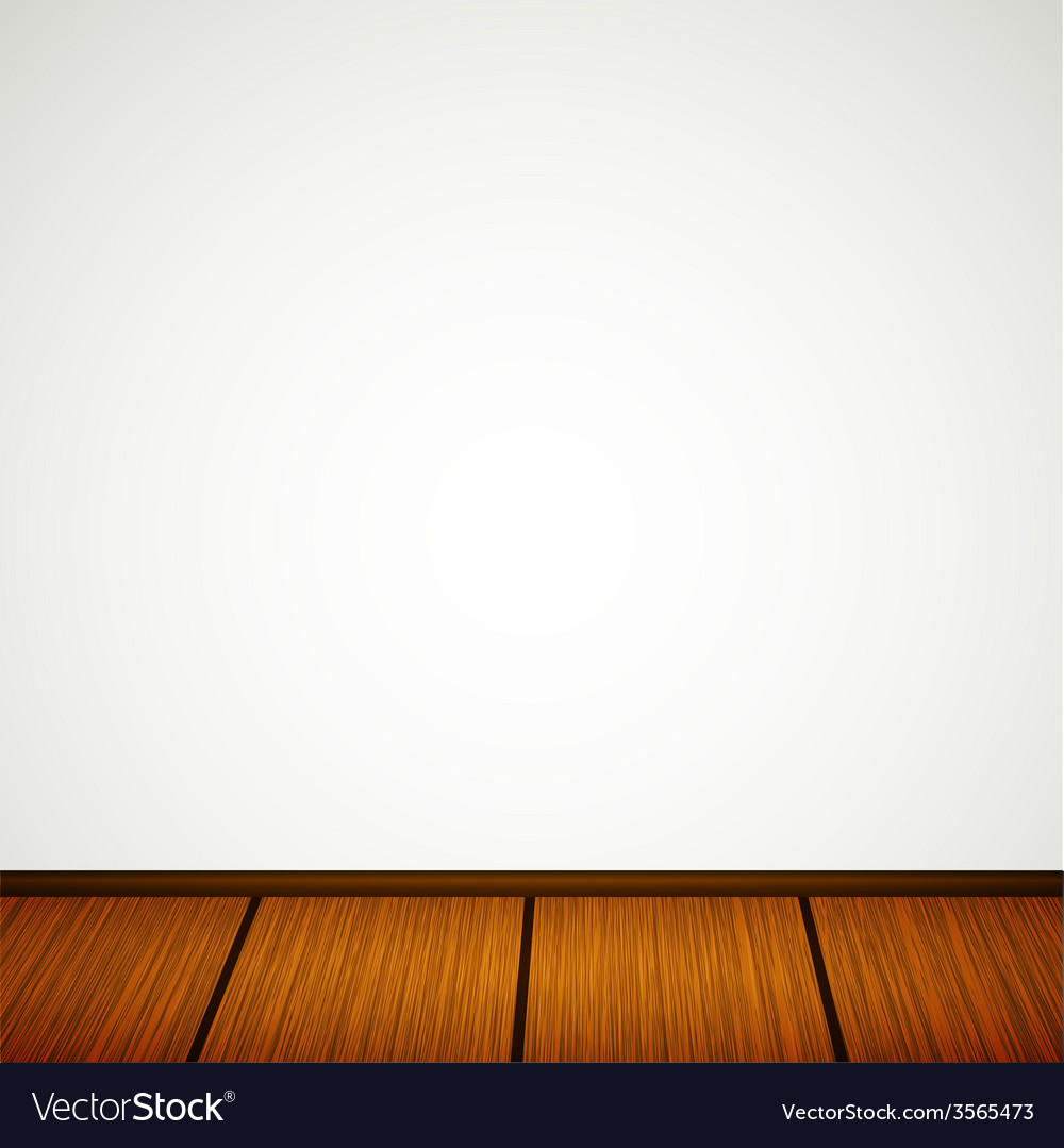 Wall with wooden floor vector | Price: 1 Credit (USD $1)