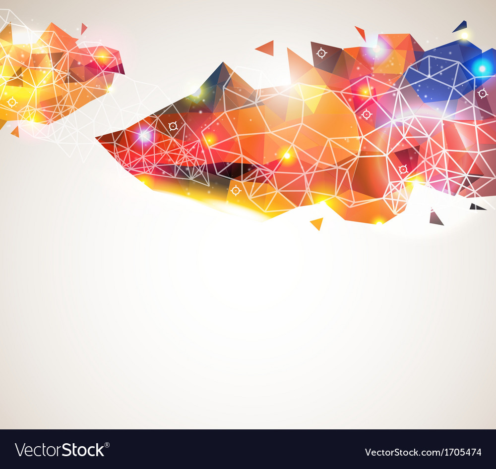Colorful and glossy geometric pattern vector   Price: 1 Credit (USD $1)