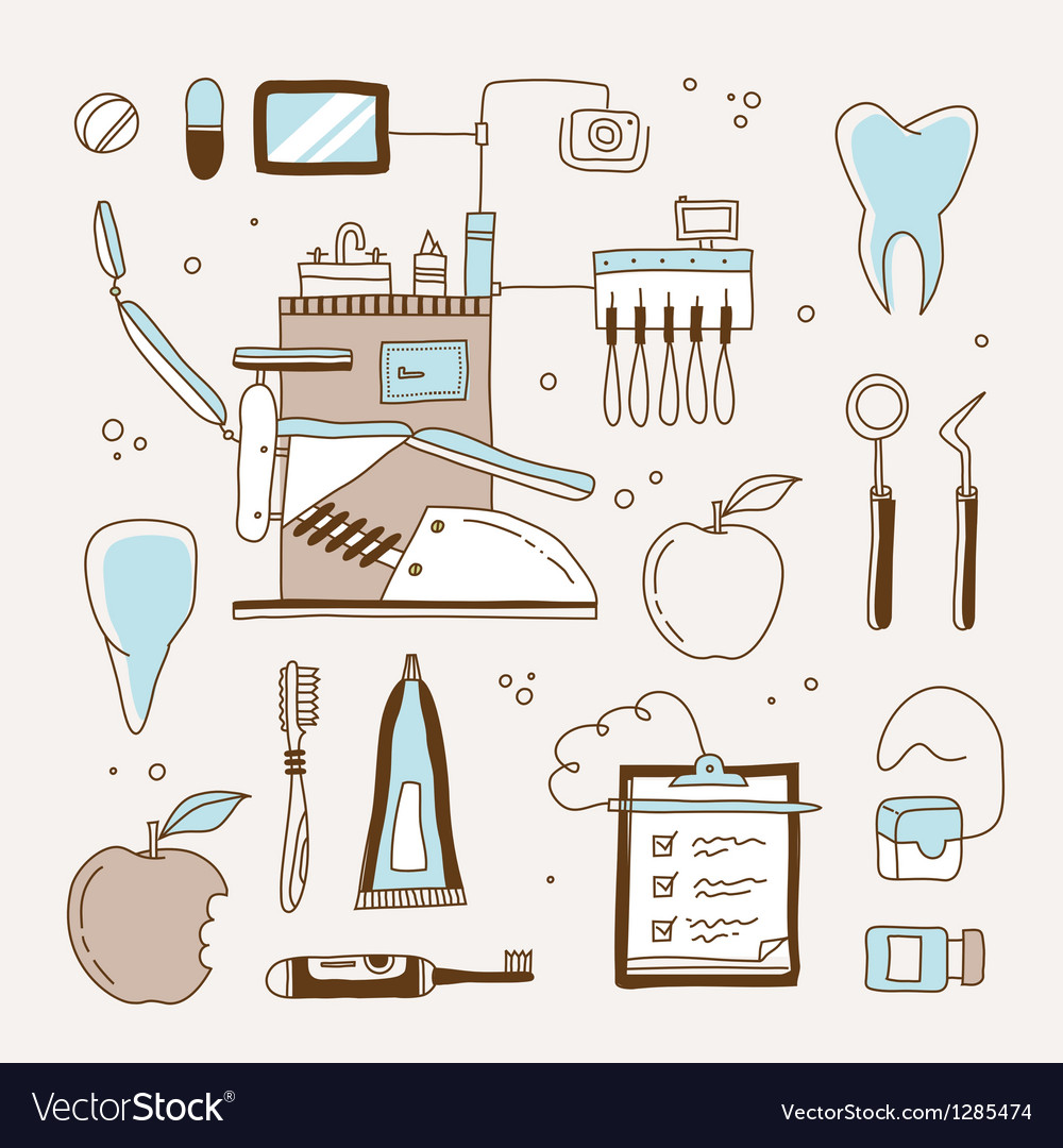 Dentist icon vector | Price: 3 Credit (USD $3)