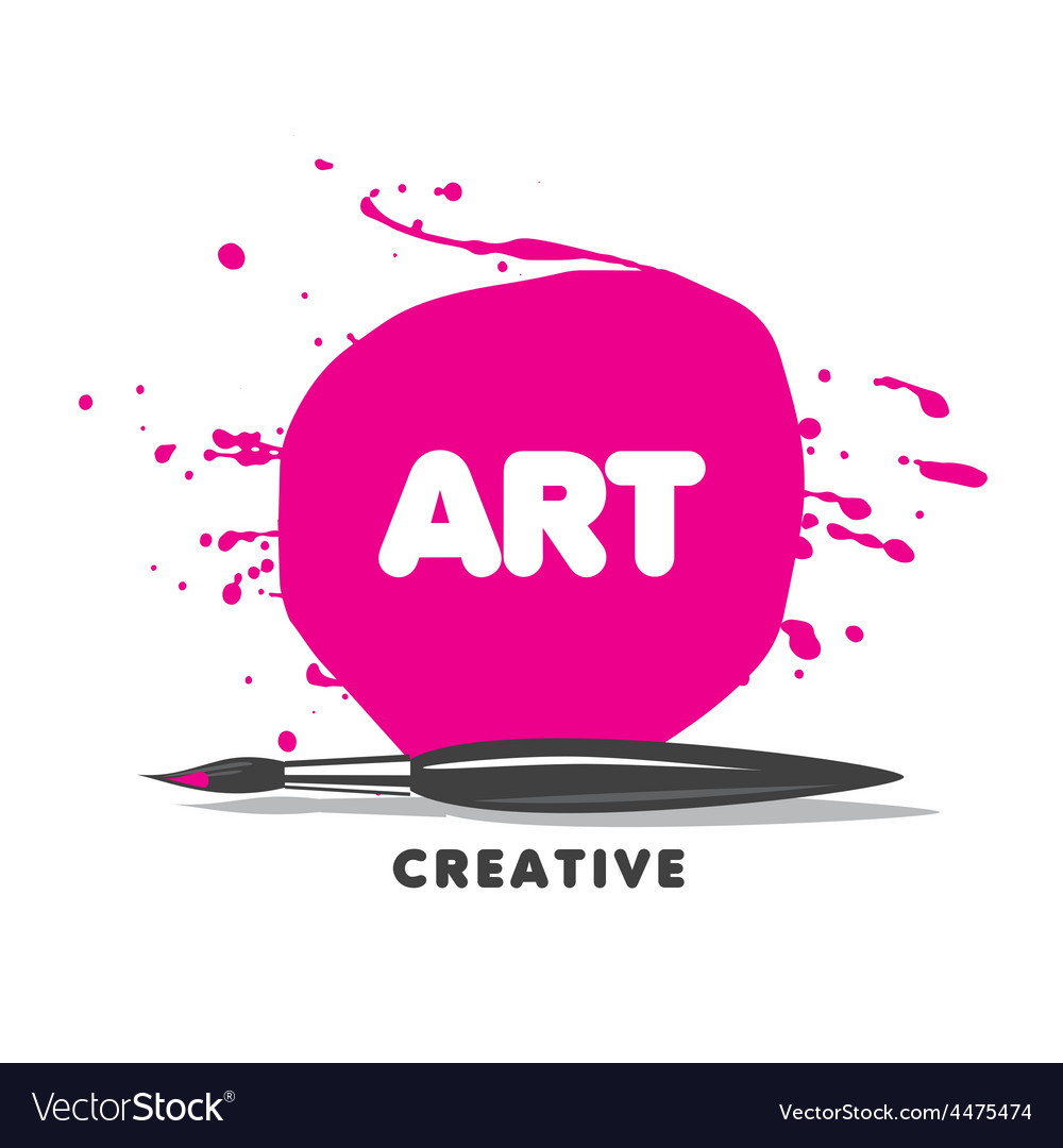 Logo brush paint and spray vector | Price: 3 Credit (USD $3)