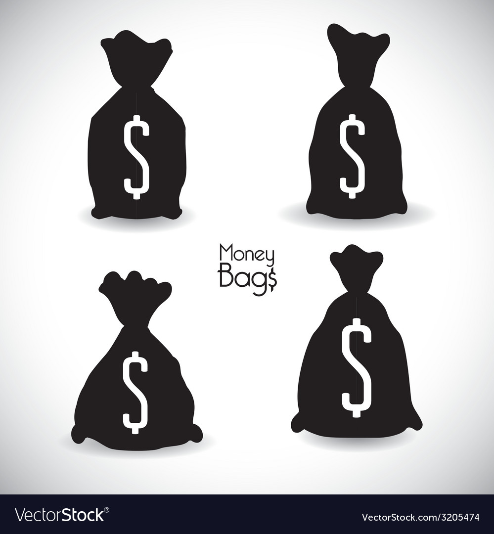 Money bag design vector | Price: 1 Credit (USD $1)