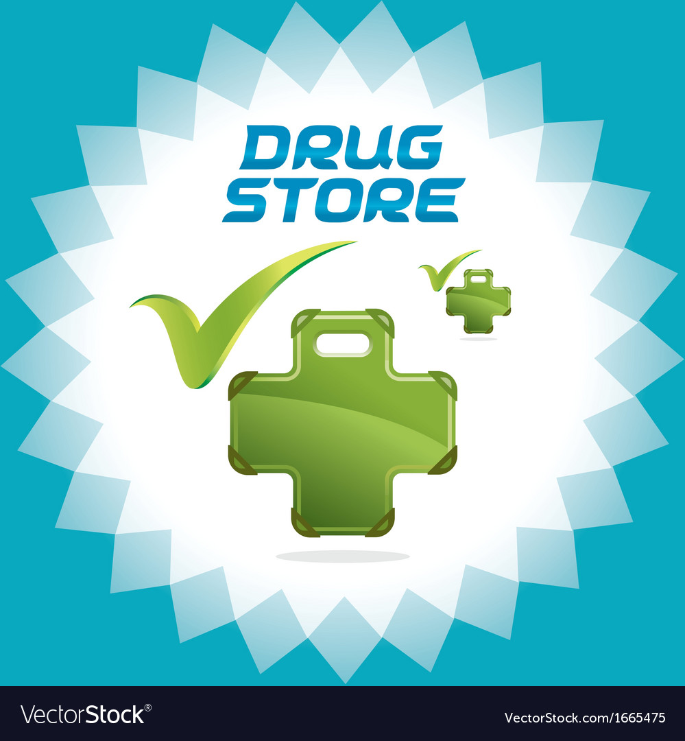 Drugstore accept icons vector | Price: 1 Credit (USD $1)