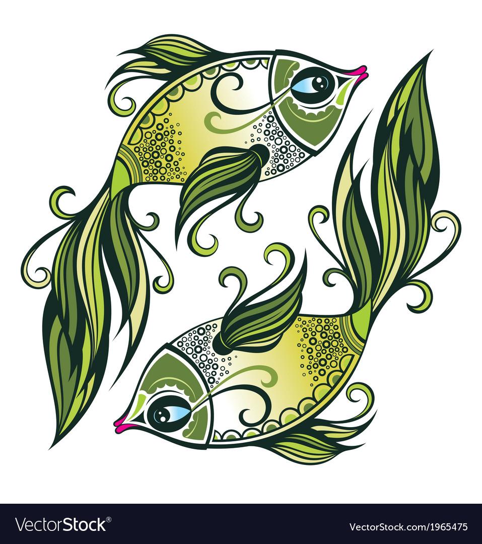 Pisces vector | Price: 1 Credit (USD $1)