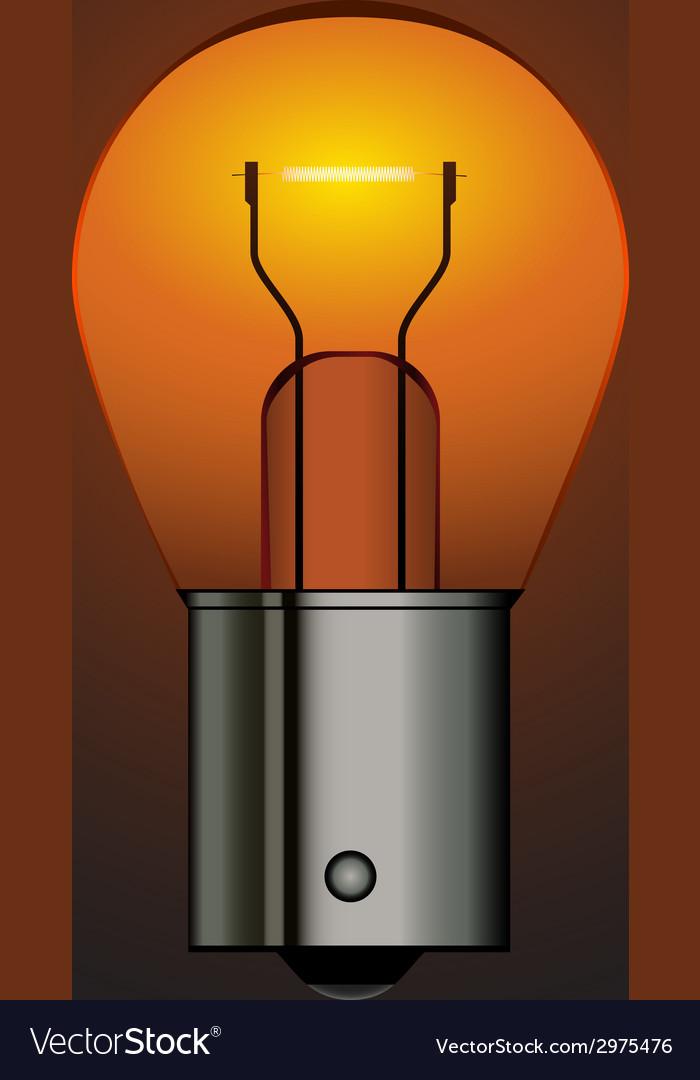 Bayonet car bulb vector | Price: 1 Credit (USD $1)