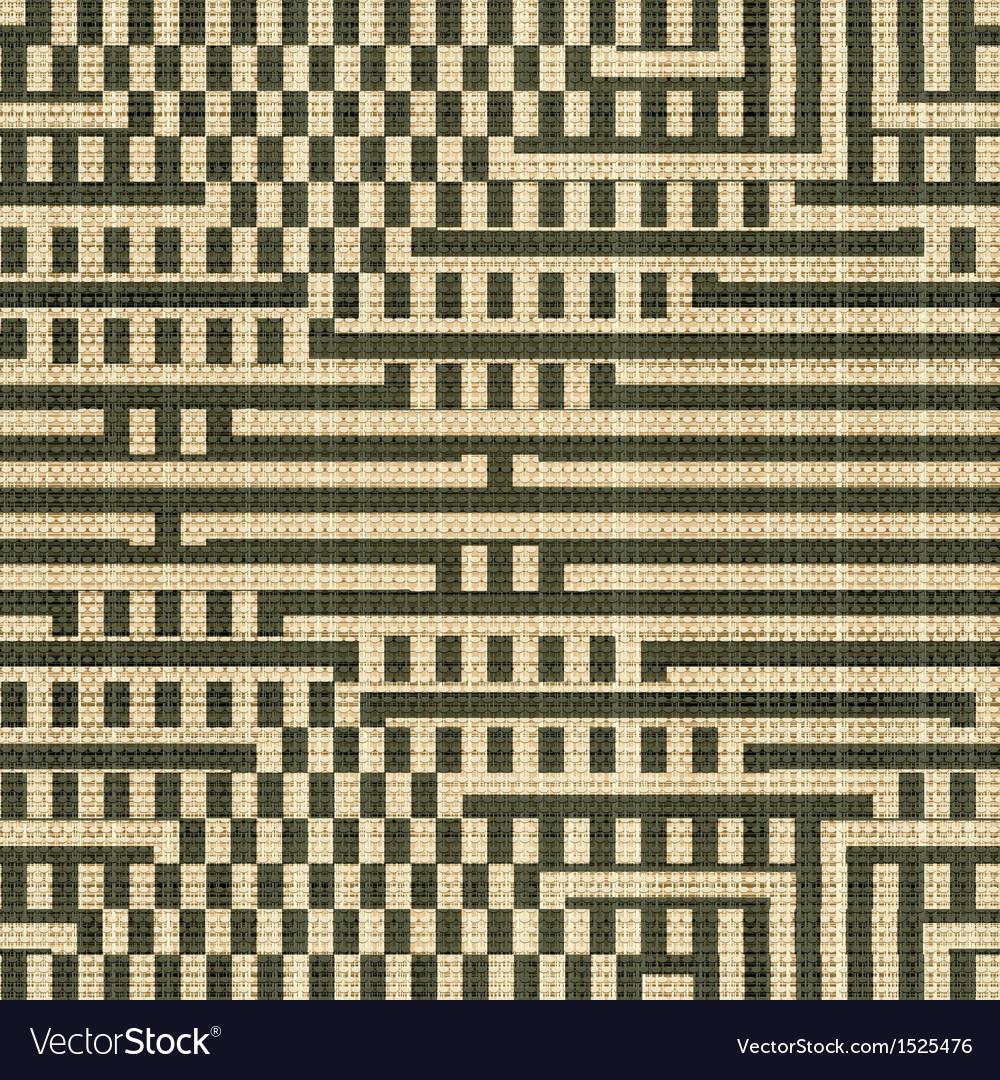 Geometric textile print vector   Price: 1 Credit (USD $1)