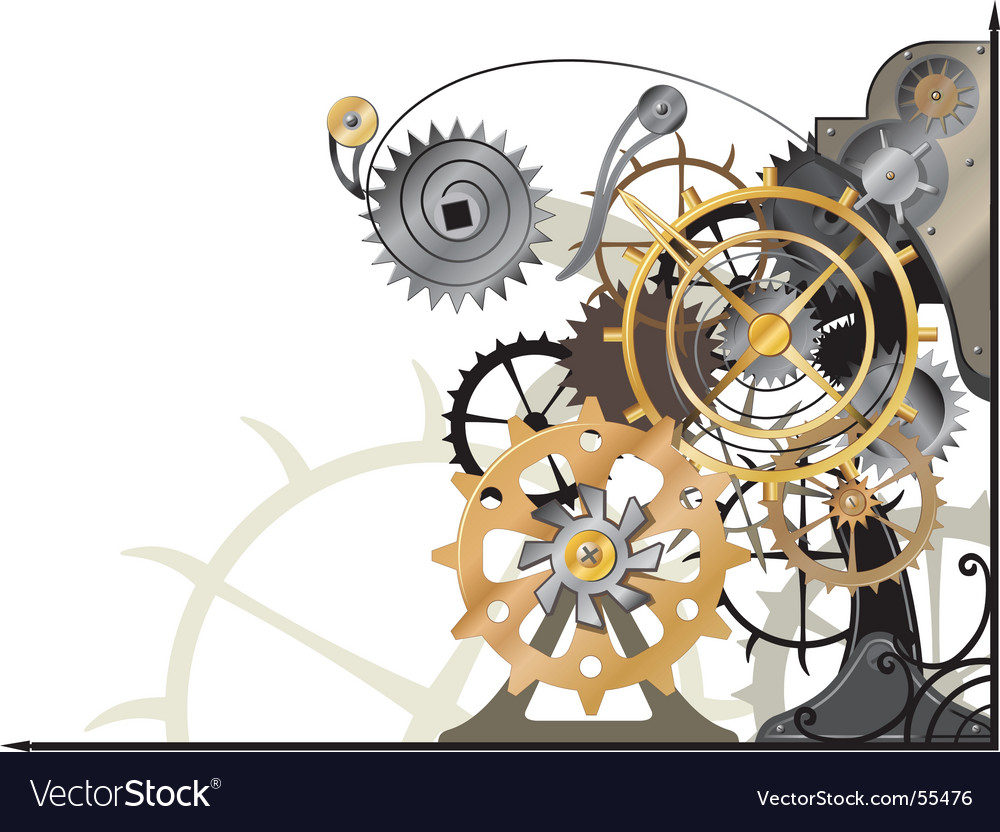 Mechanism new vector | Price: 1 Credit (USD $1)