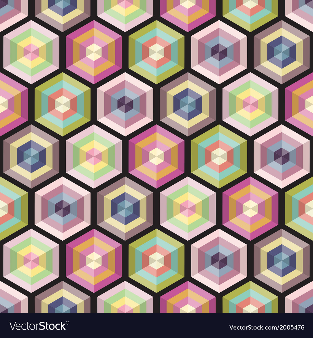 Seamless background geometry pattern vector | Price: 1 Credit (USD $1)