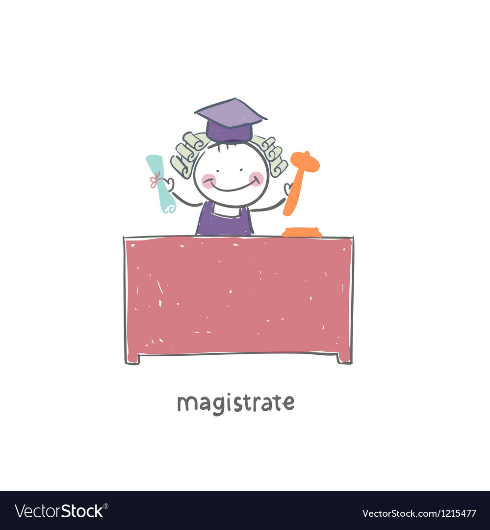 Magistrate vector | Price: 1 Credit (USD $1)