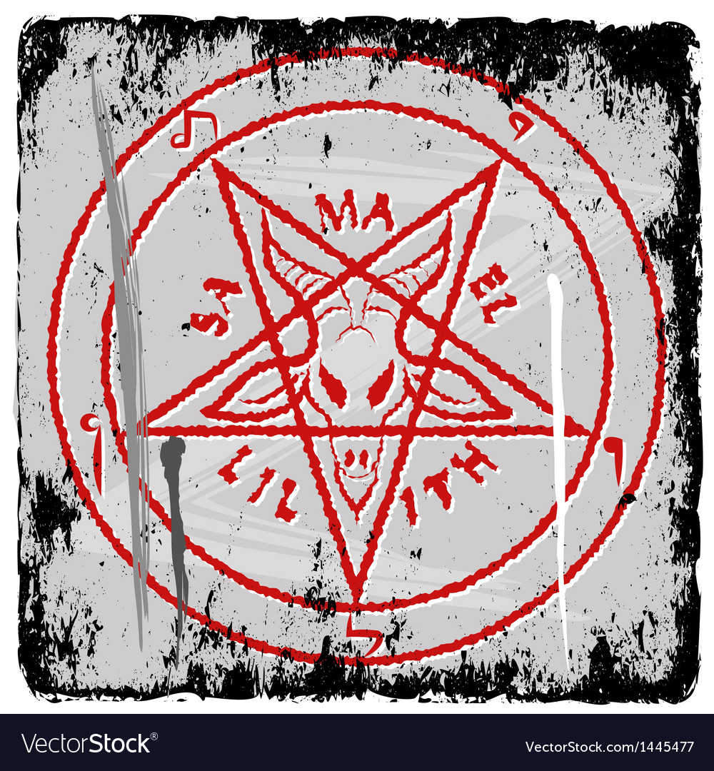 Pentagram vector | Price: 1 Credit (USD $1)