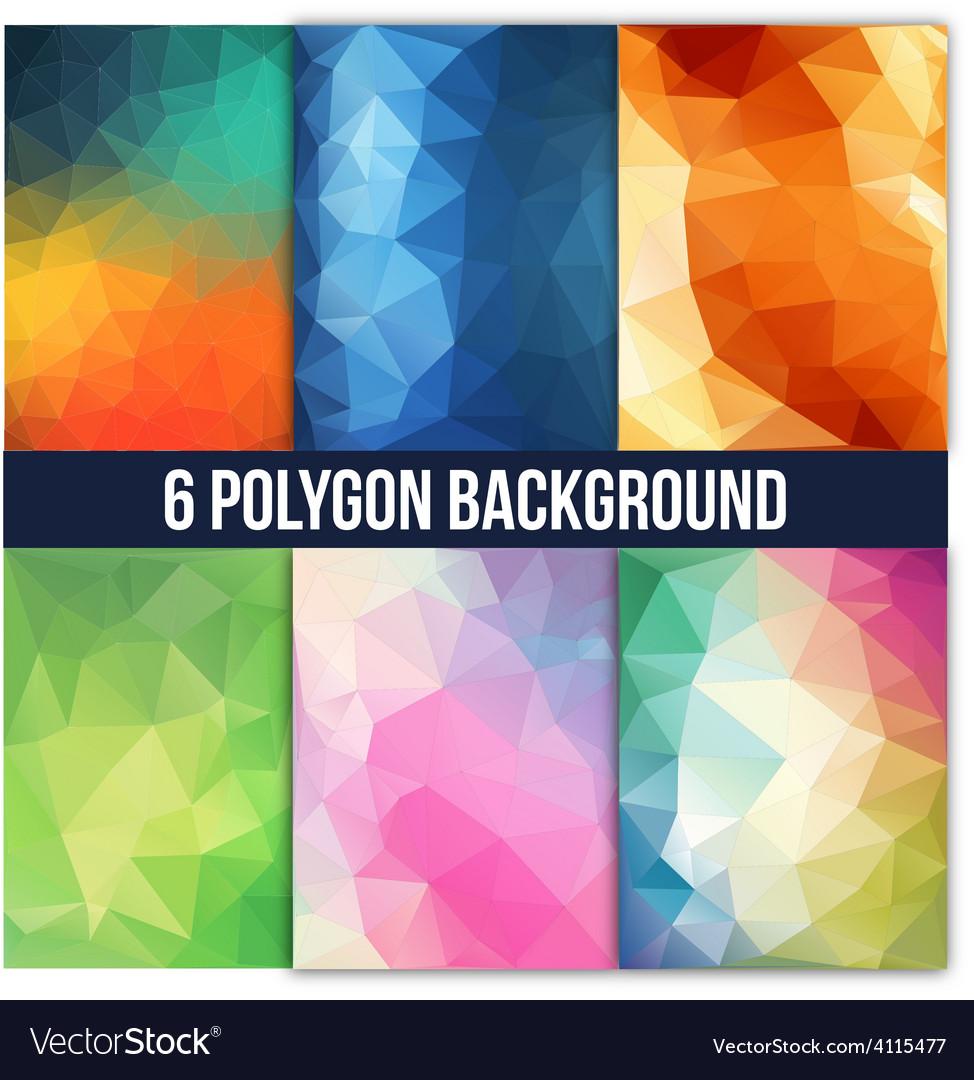 Polygon vector