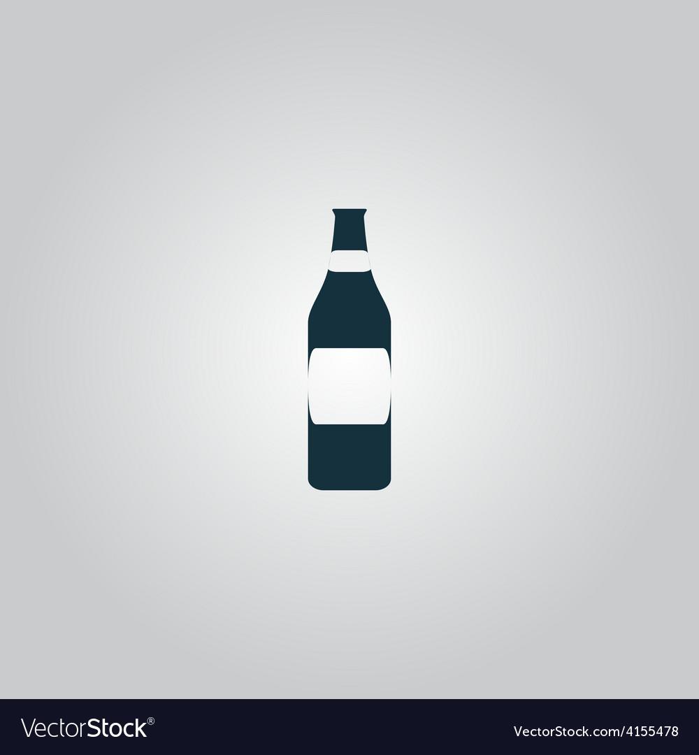 Bottle of beer - vector | Price: 1 Credit (USD $1)