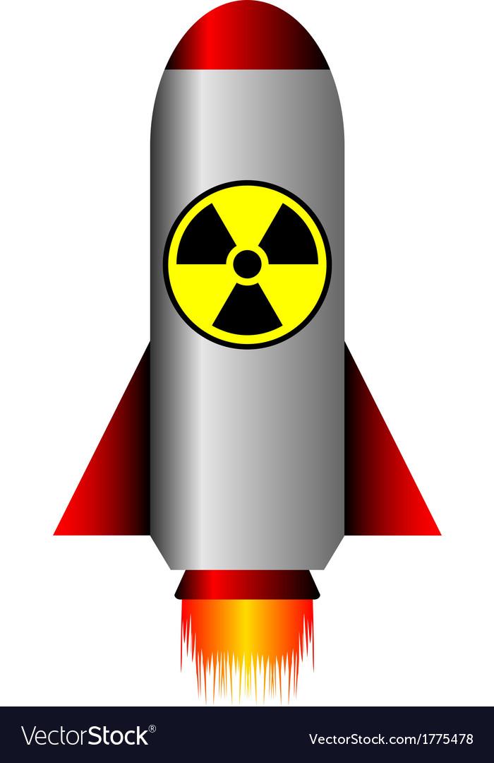 Nuclear ballistic rocket vector | Price: 1 Credit (USD $1)