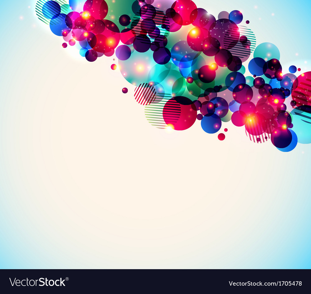 Stylish poster on a contrast shiny background vector | Price: 1 Credit (USD $1)