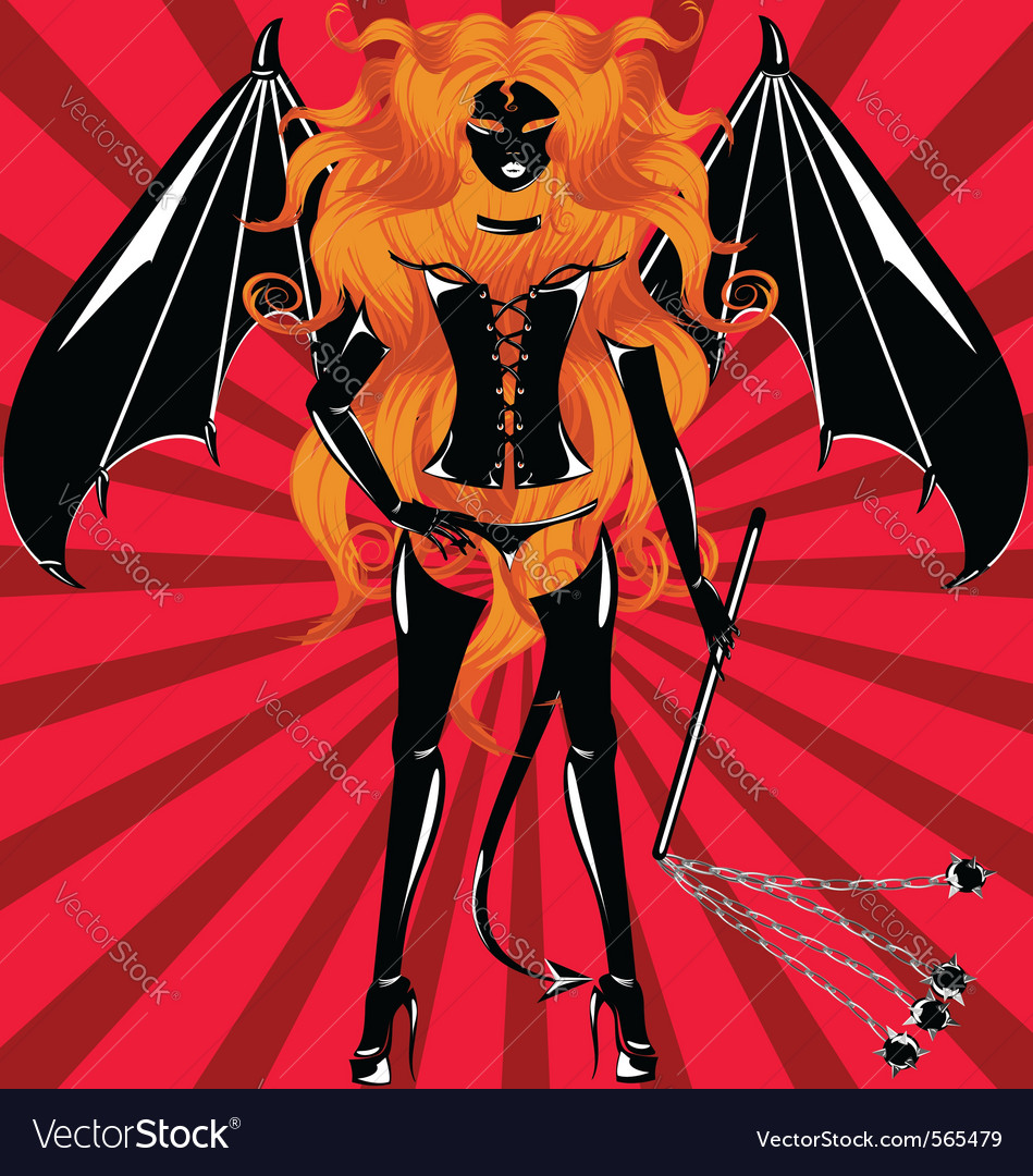 Maiden demon vector | Price: 1 Credit (USD $1)