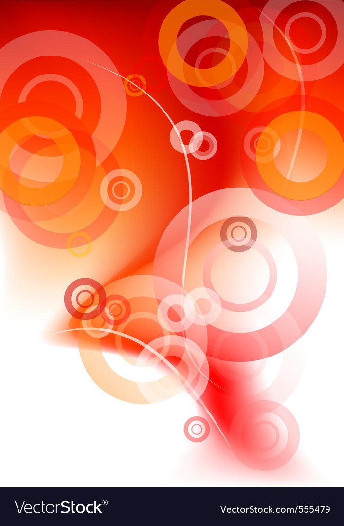 Red smoke with red circles vector | Price: 1 Credit (USD $1)