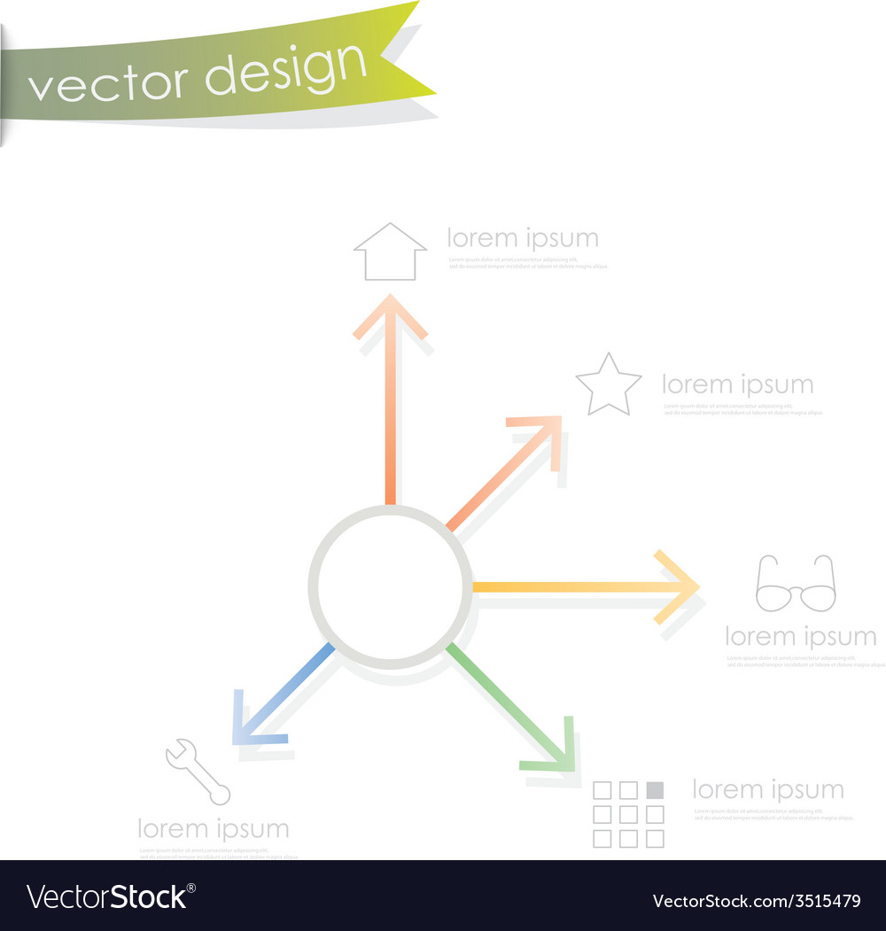 Simple process step vector | Price: 1 Credit (USD $1)