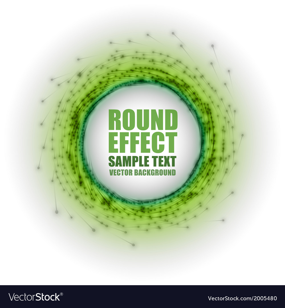 Fireworks circle green white with text vector | Price: 1 Credit (USD $1)