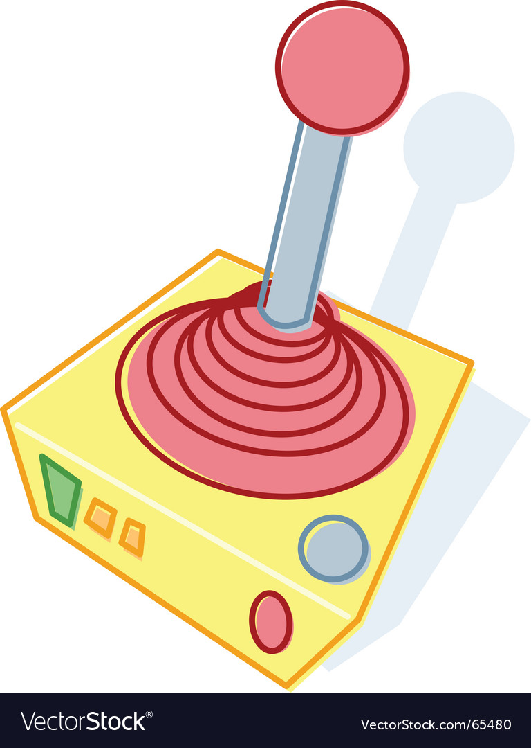 Joystick illustration vector | Price: 1 Credit (USD $1)