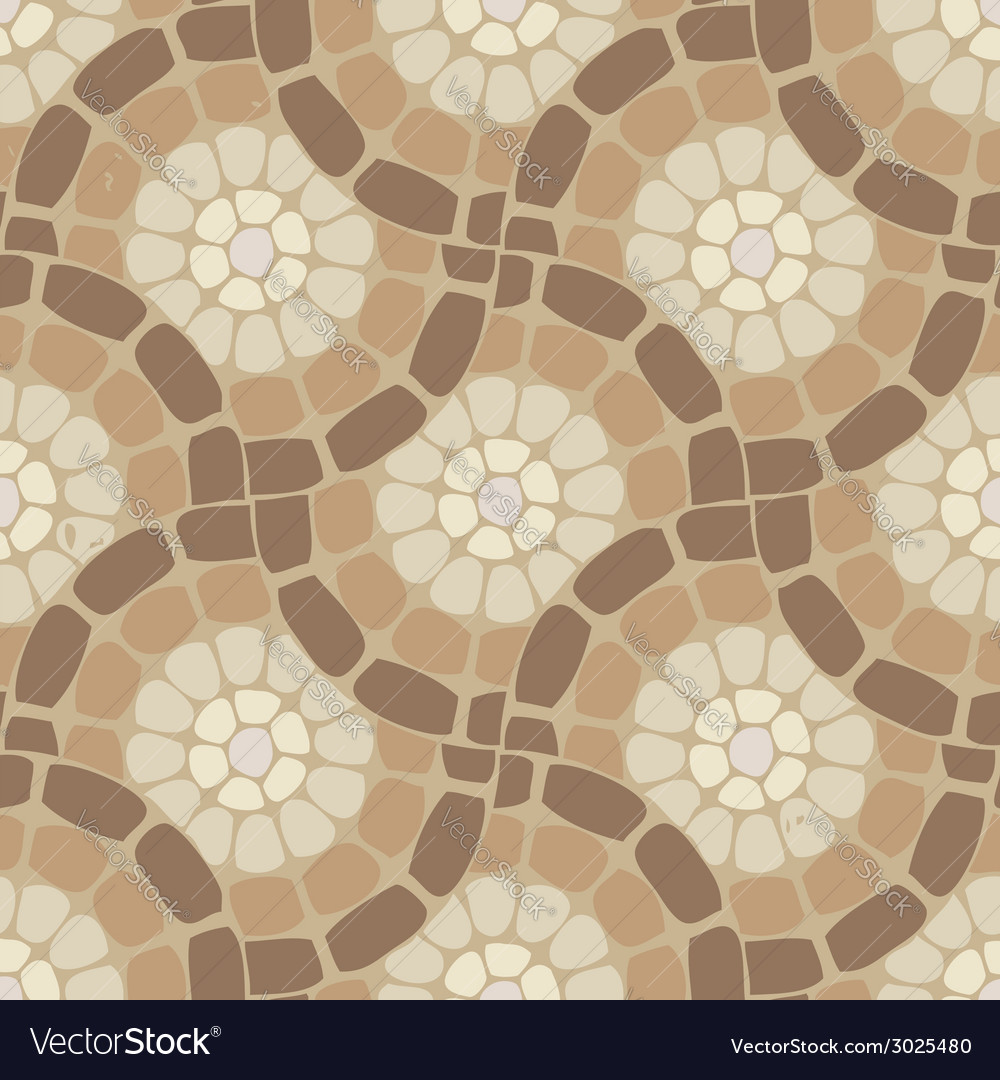 Tile mosaic floor vector | Price: 1 Credit (USD $1)