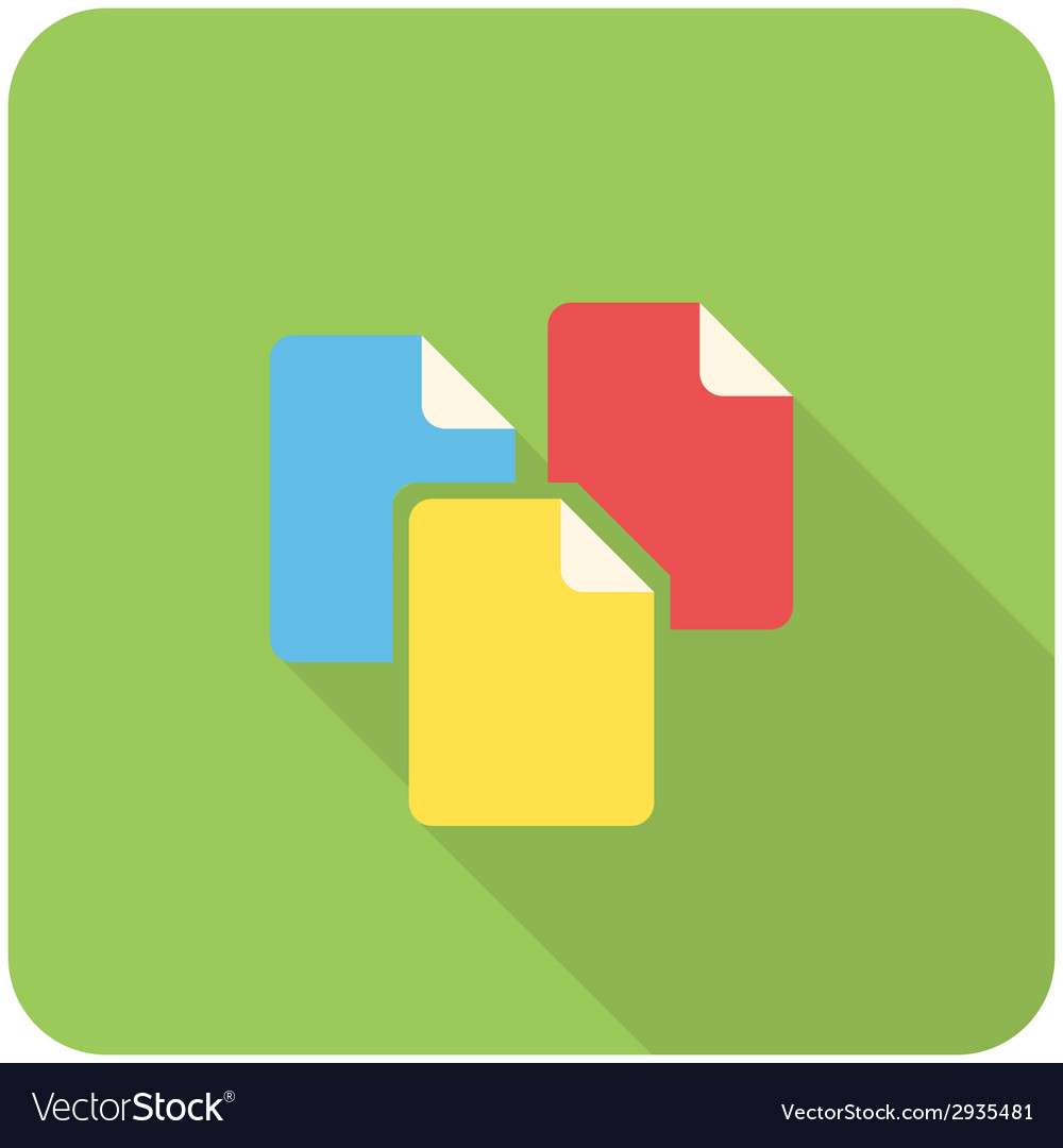 Files icon vector | Price: 1 Credit (USD $1)