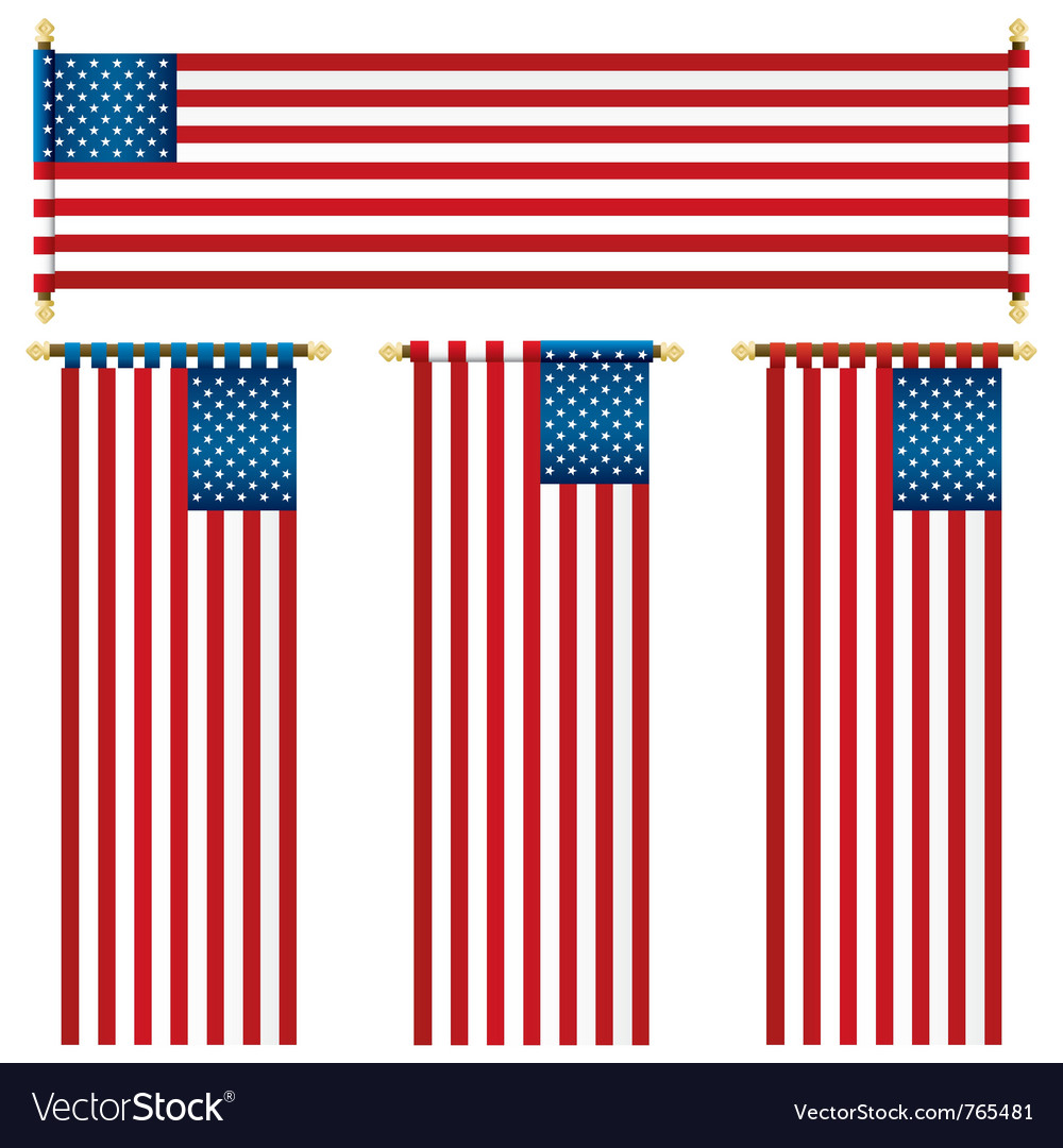 Usa banners vector | Price: 1 Credit (USD $1)