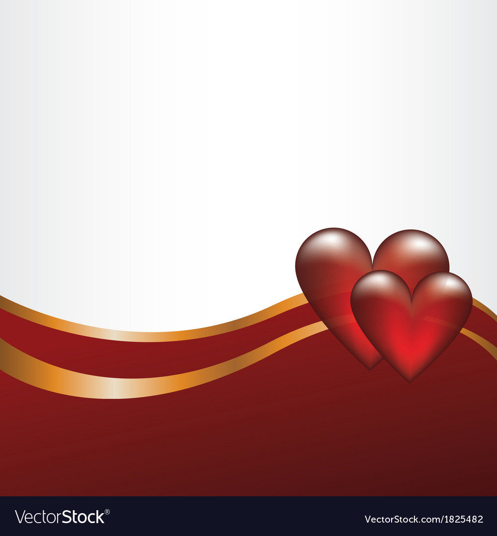 Abstract backgroun with hearts vector | Price: 1 Credit (USD $1)