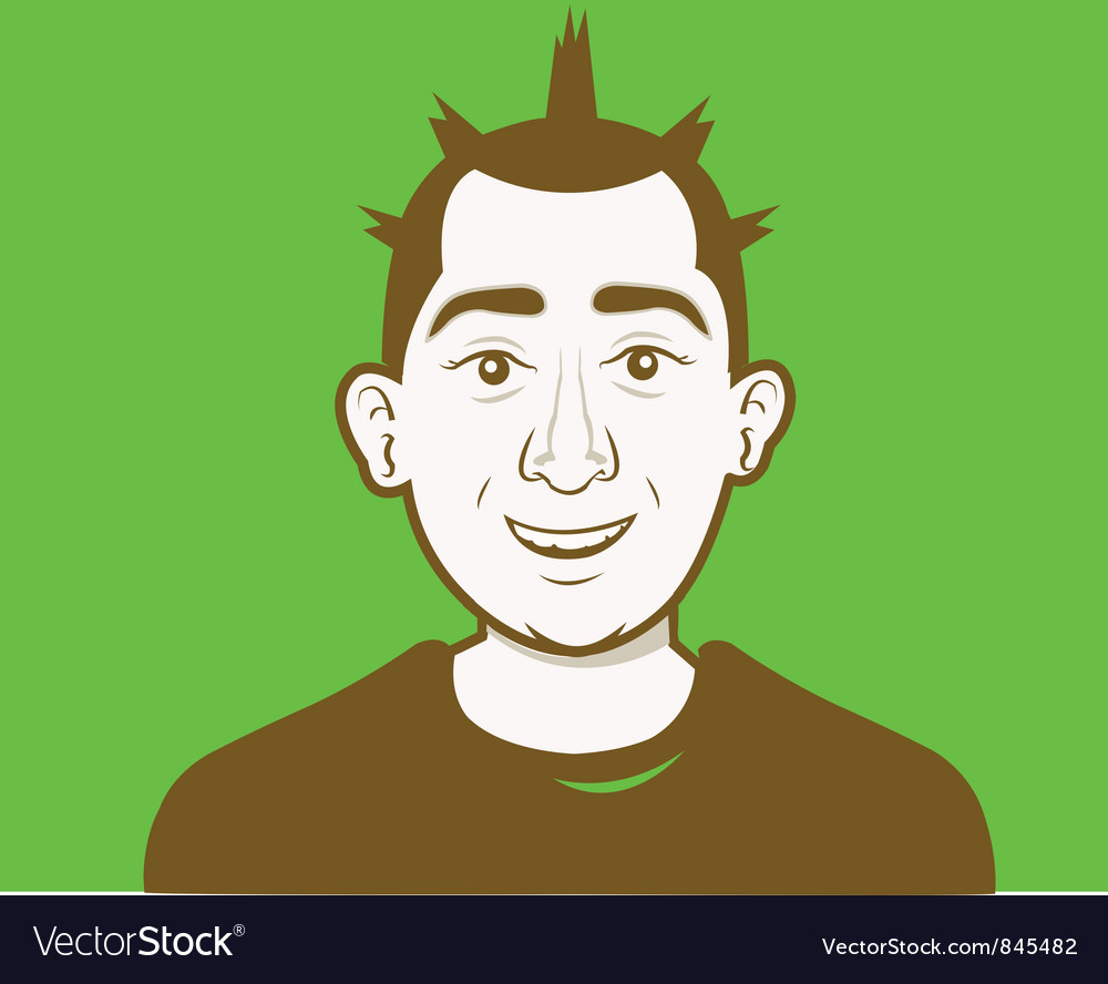 Male avatar kit vector | Price: 1 Credit (USD $1)