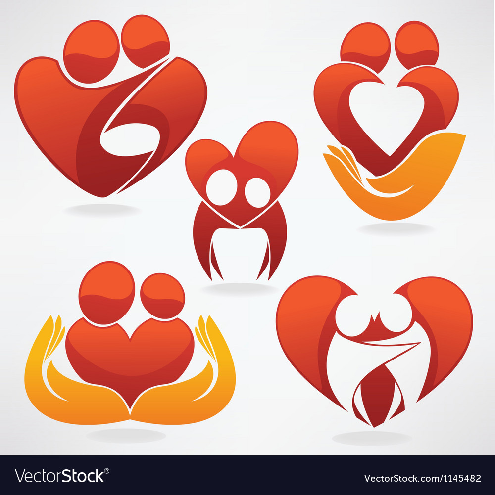 People in love vector | Price: 1 Credit (USD $1)