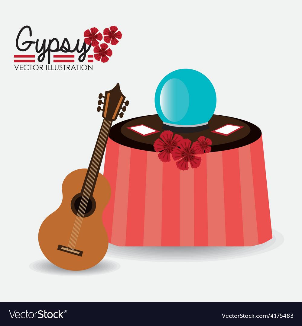 Gipsy design vector   Price: 1 Credit (USD $1)
