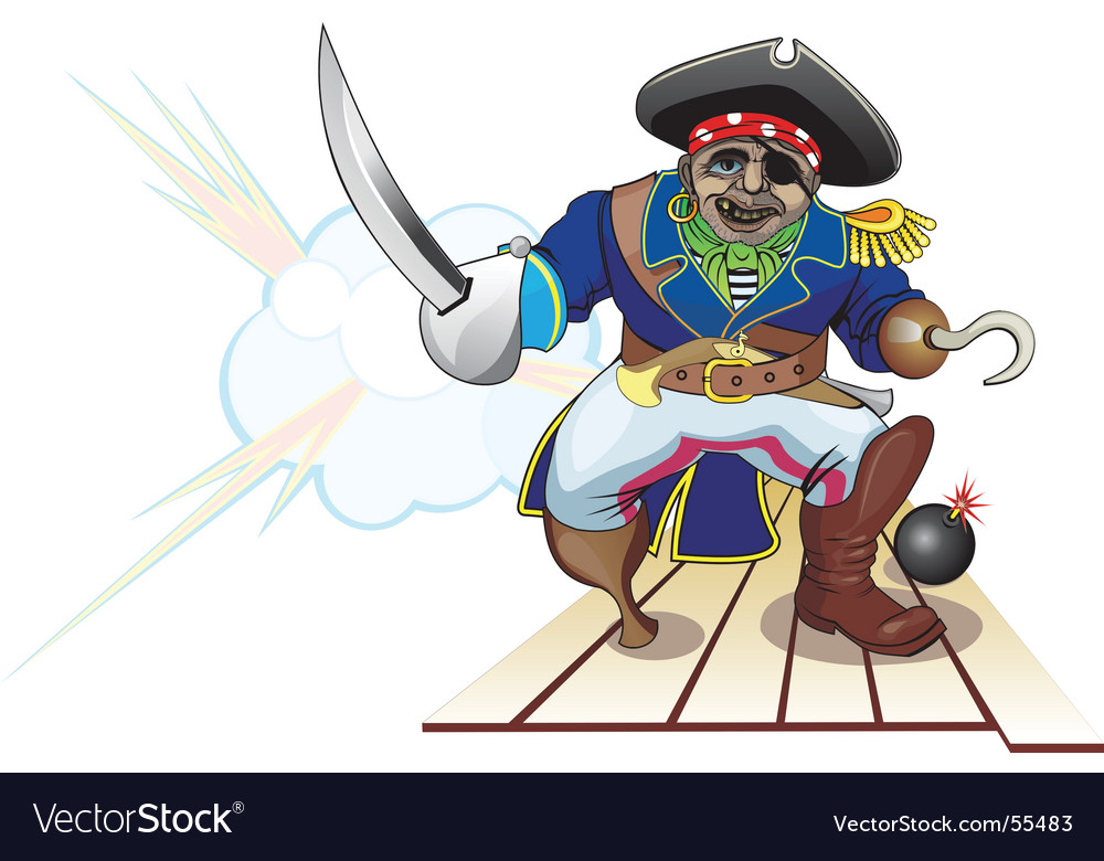 Pirate attack vector | Price: 3 Credit (USD $3)