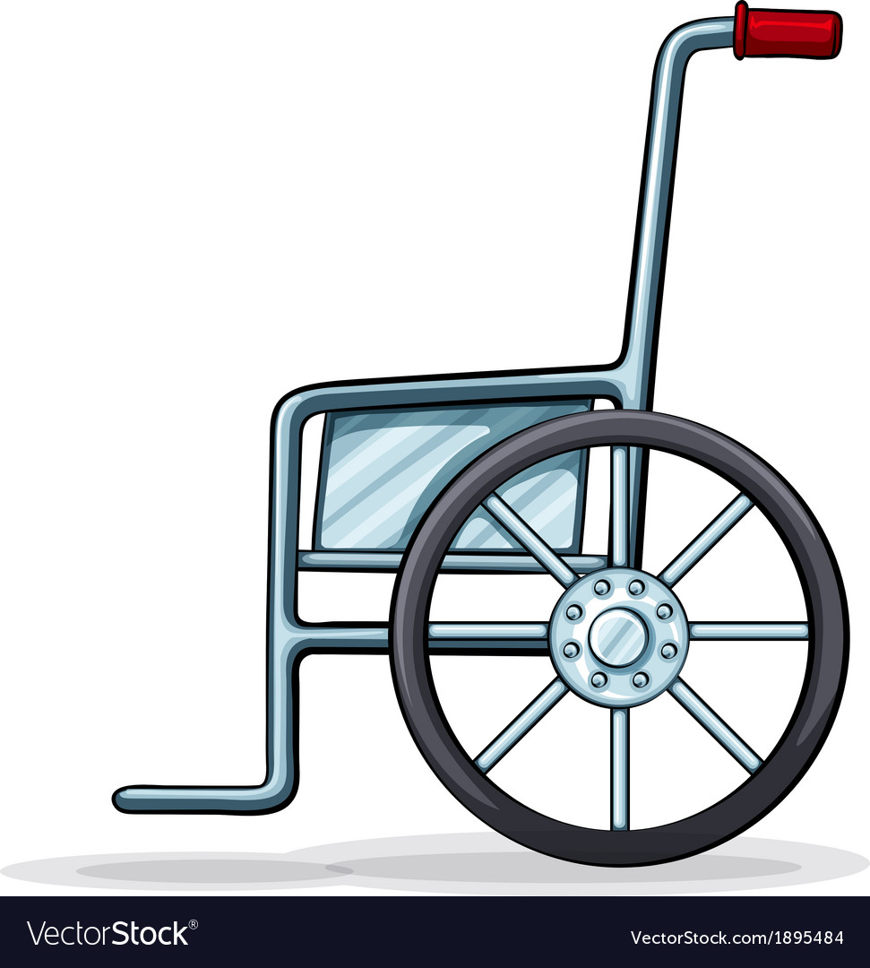 A wheelchair vector | Price: 1 Credit (USD $1)