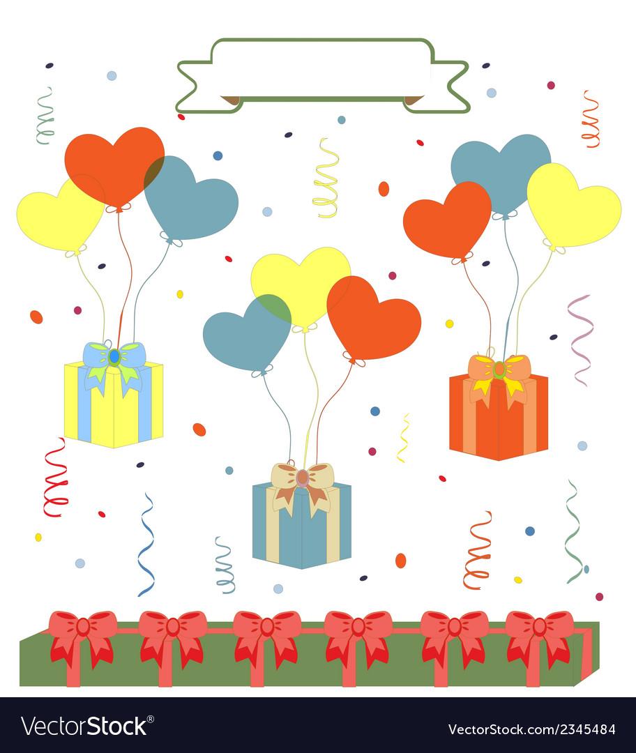 Birthday background vector | Price: 1 Credit (USD $1)